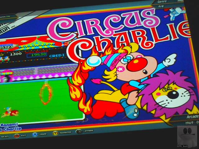 Circus Charlie [No Level Select] 30,980 points