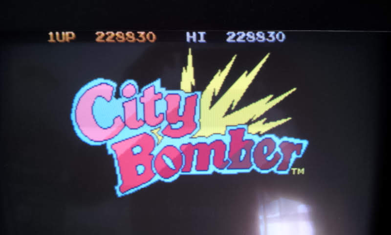 Larquey: City Bomber [citybomb] (Arcade Emulated / M.A.M.E.) 228,830 points on 2018-06-26 11:04:24