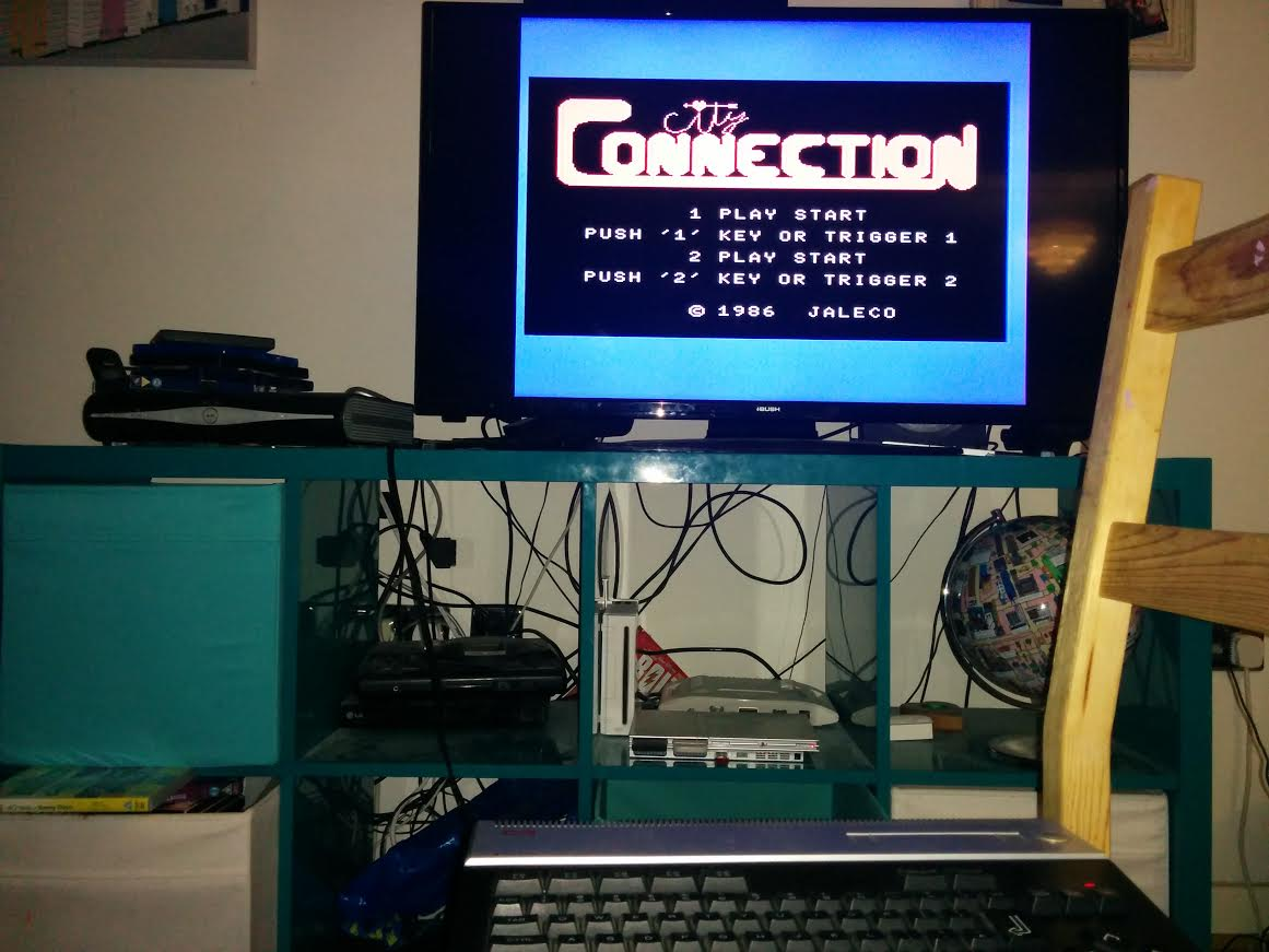 mechafatnick: City Connection (MSX) 66,700 points on 2016-09-23 15:56:31