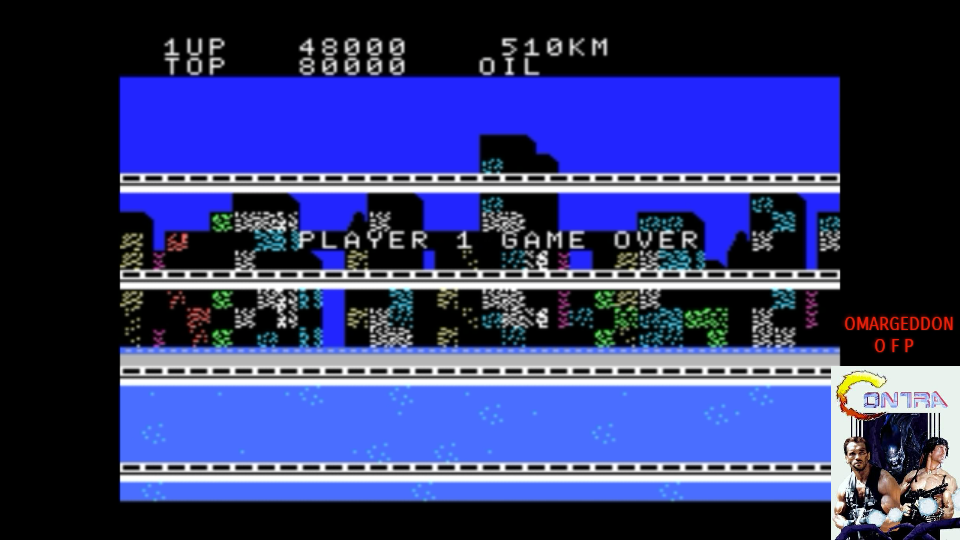 omargeddon: City Connection (MSX Emulated) 48,000 points on 2017-07-22 11:31:38