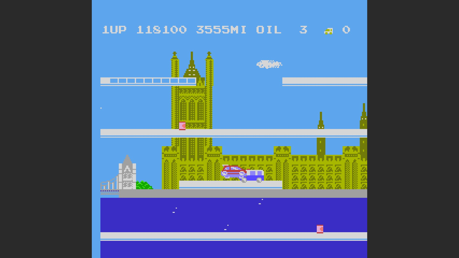 AkinNahtanoj: City Connection (NES/Famicom Emulated) 118,100 points on 2020-09-09 02:45:30