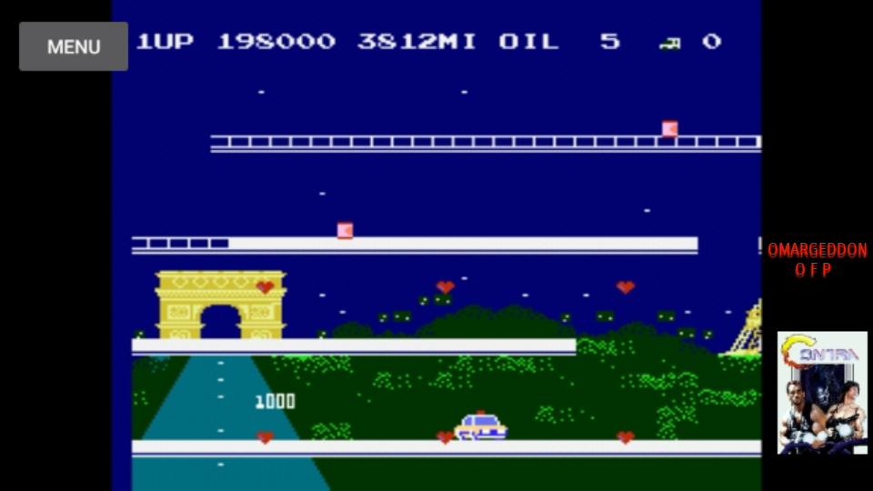 omargeddon: City Connection (NES/Famicom Emulated) 198,000 points on 2017-07-29 12:44:41