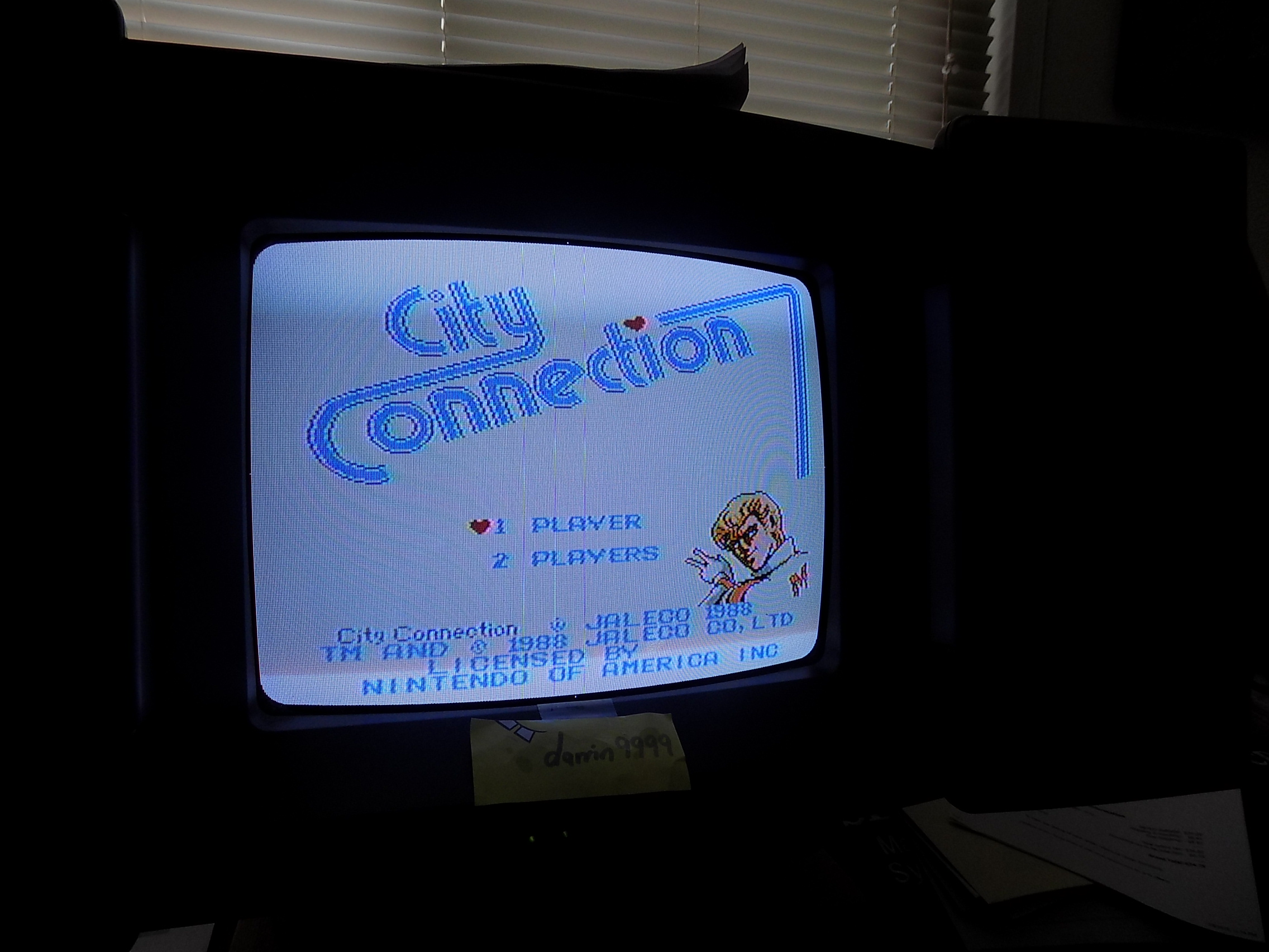 darrin9999: City Connection (NES/Famicom) 80,800 points on 2018-03-20 15:23:12