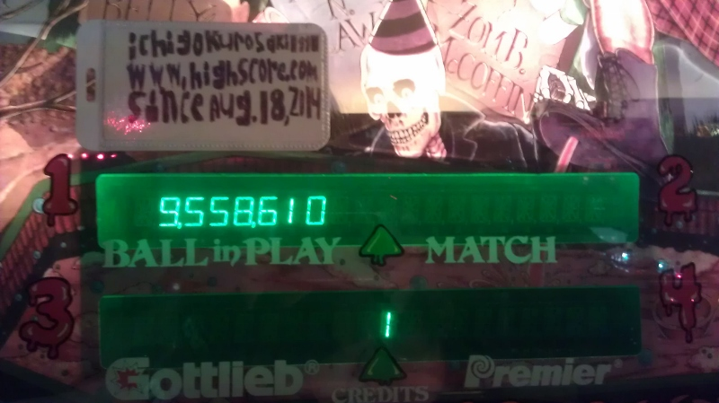 ichigokurosaki1991: Class of 1812 (Pinball: 5 Balls) 9,558,610 points on 2016-04-03 23:23:28