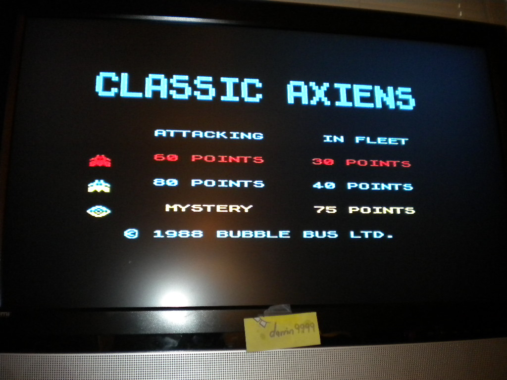Classic Axiens 2,635 points