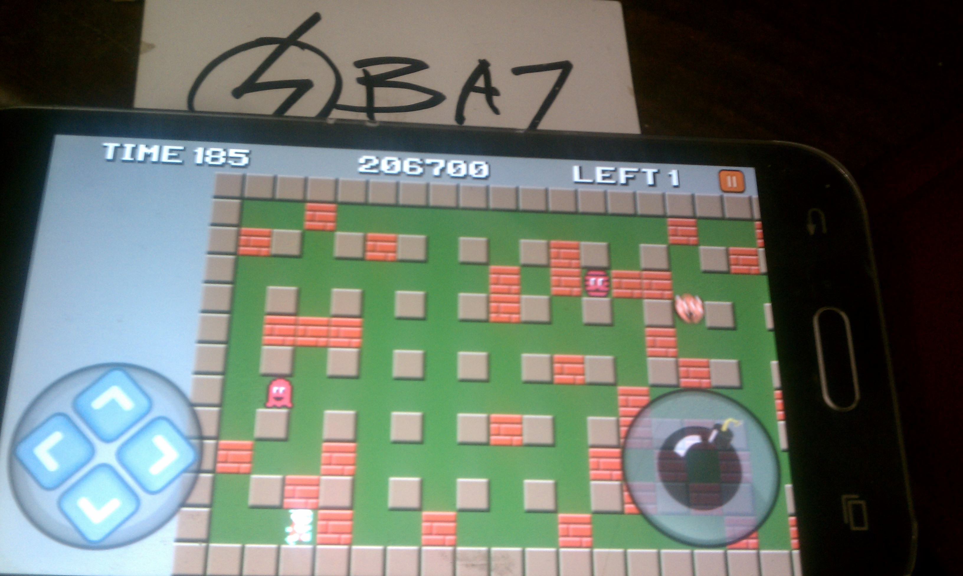 BAZ: Classic Bomberman (Android) 206,700 points on 2020-01-18 14:20:47