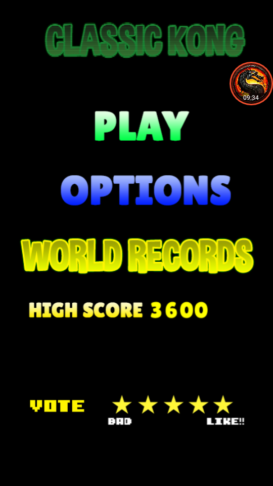 omargeddon: Classic Kong (Android) 3,600 points on 2020-07-21 13:46:14