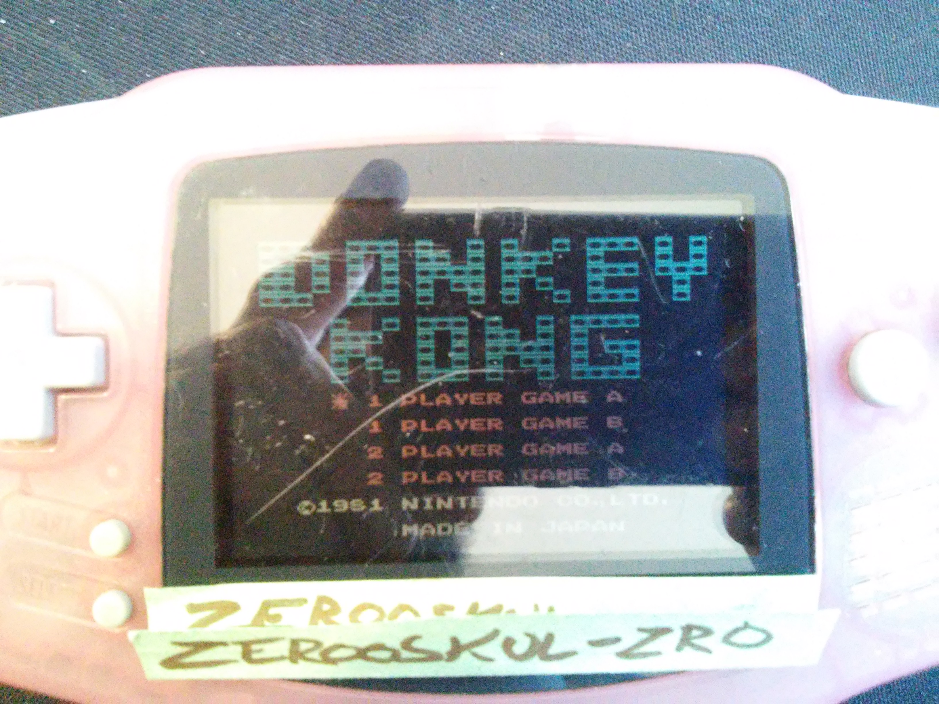 Classic NES Series: Donkey Kong 208,400 points