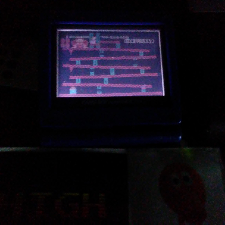 Pjsteele: Classic NES Series: Donkey Kong (GBA) 286,400 points on 2018-12-09 09:42:55
