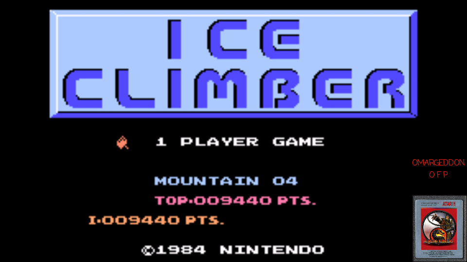omargeddon: Classic NES Series: Ice Climber (GBA Emulated) 9,440 points on 2017-03-15 21:13:44
