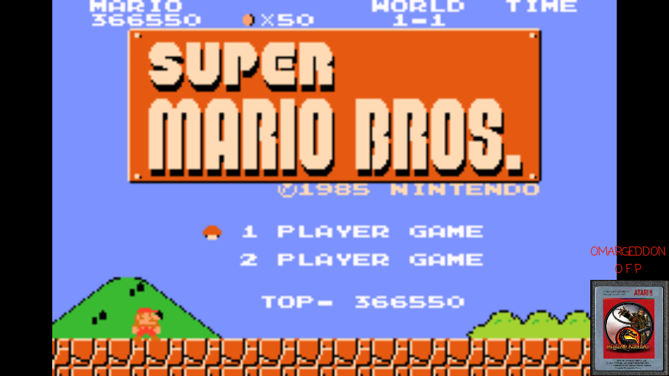 omargeddon: Classic NES Series: Super Mario Bros. (GBA Emulated) 366,550 points on 2017-03-10 11:57:50