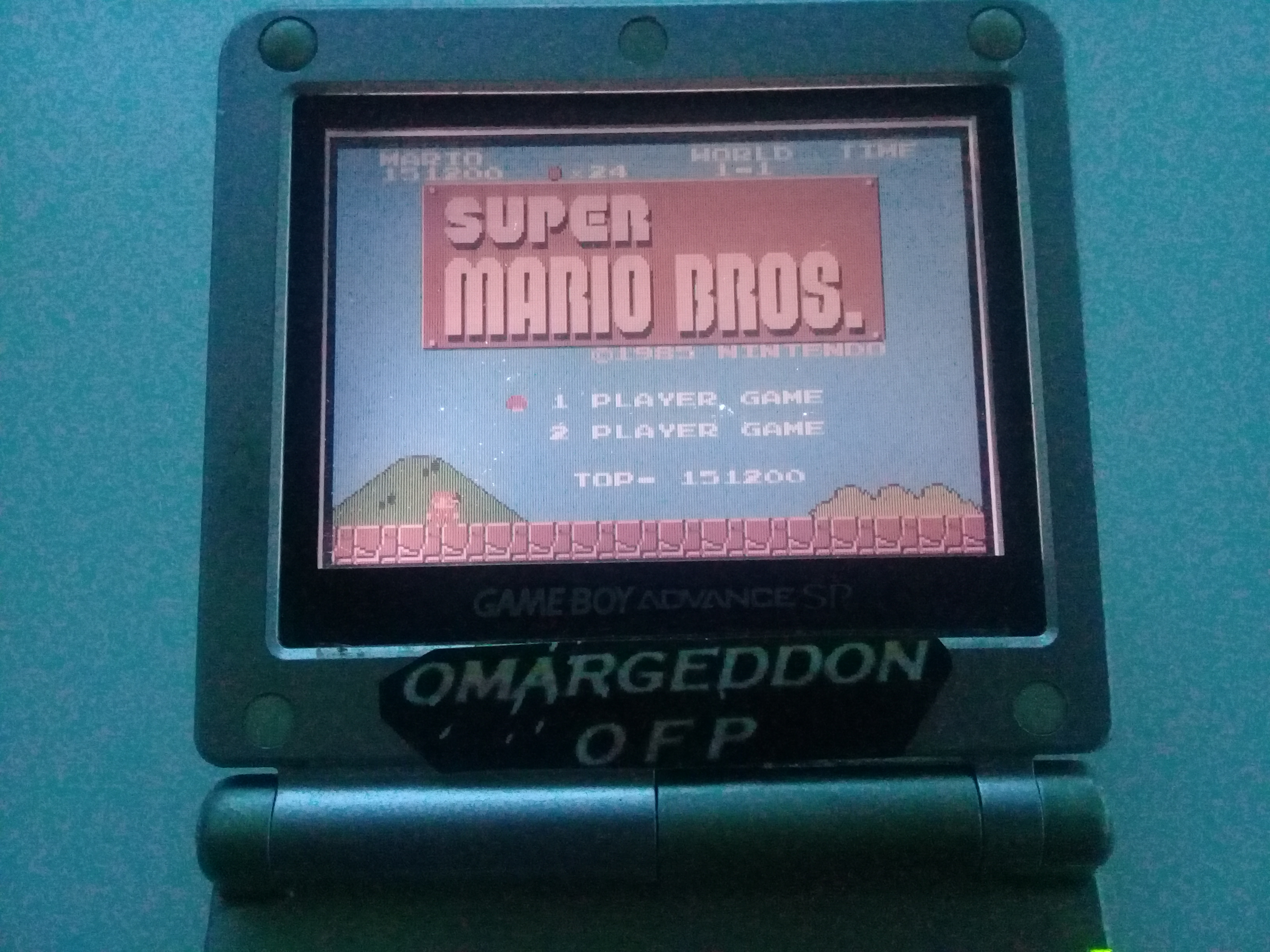 omargeddon: Classic NES Series: Super Mario Bros. (GBA) 151,200 points on 2018-12-08 17:22:04