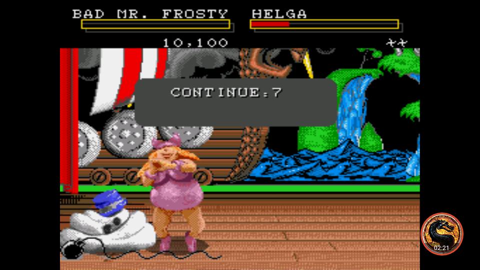 omargeddon: Clay Fighter (Sega Genesis / MegaDrive Emulated) 10,100 points on 2019-02-13 20:24:55