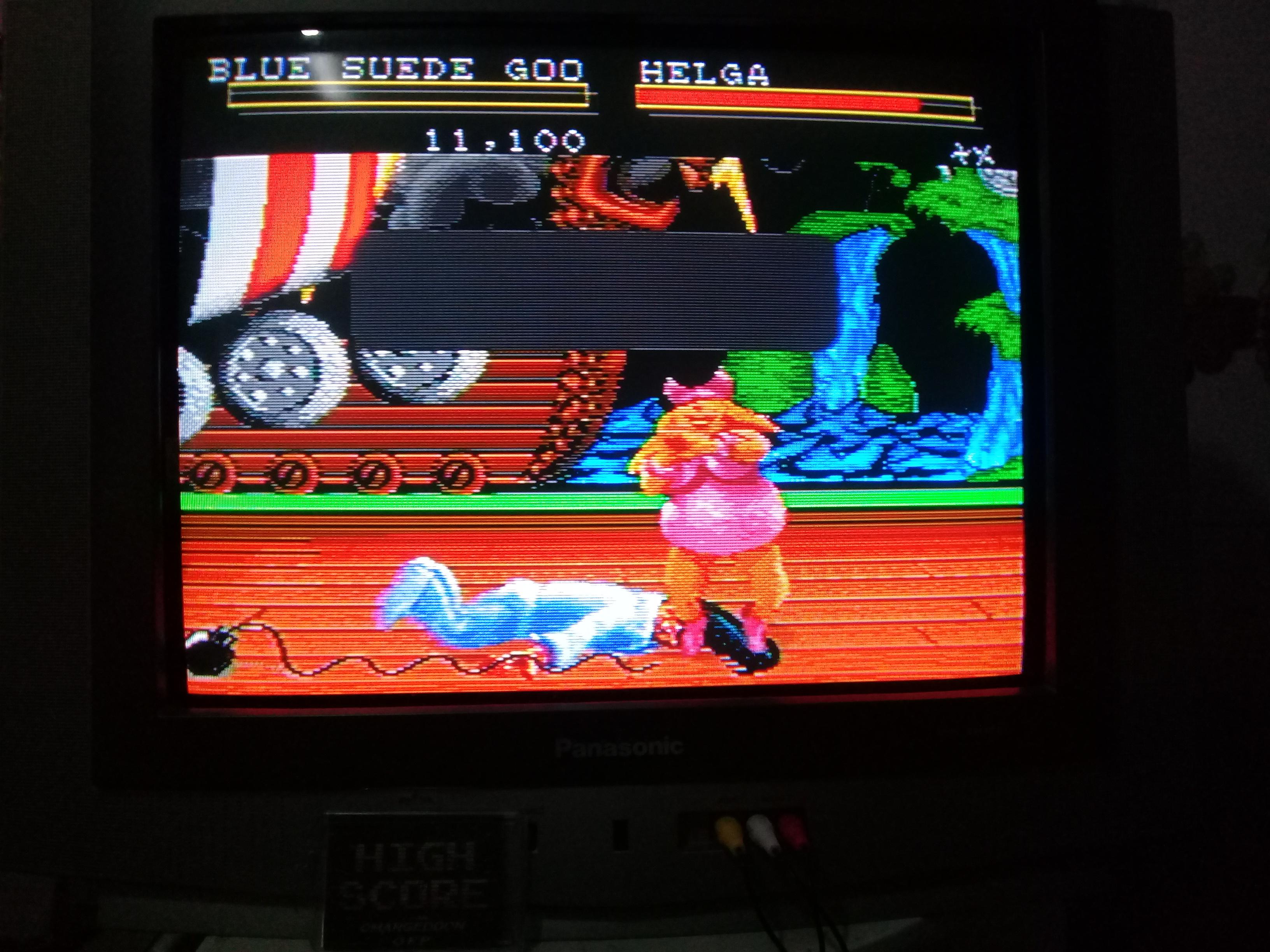 omargeddon: Clay Fighter (Sega Genesis / MegaDrive) 11,100 points on 2019-03-21 16:57:36