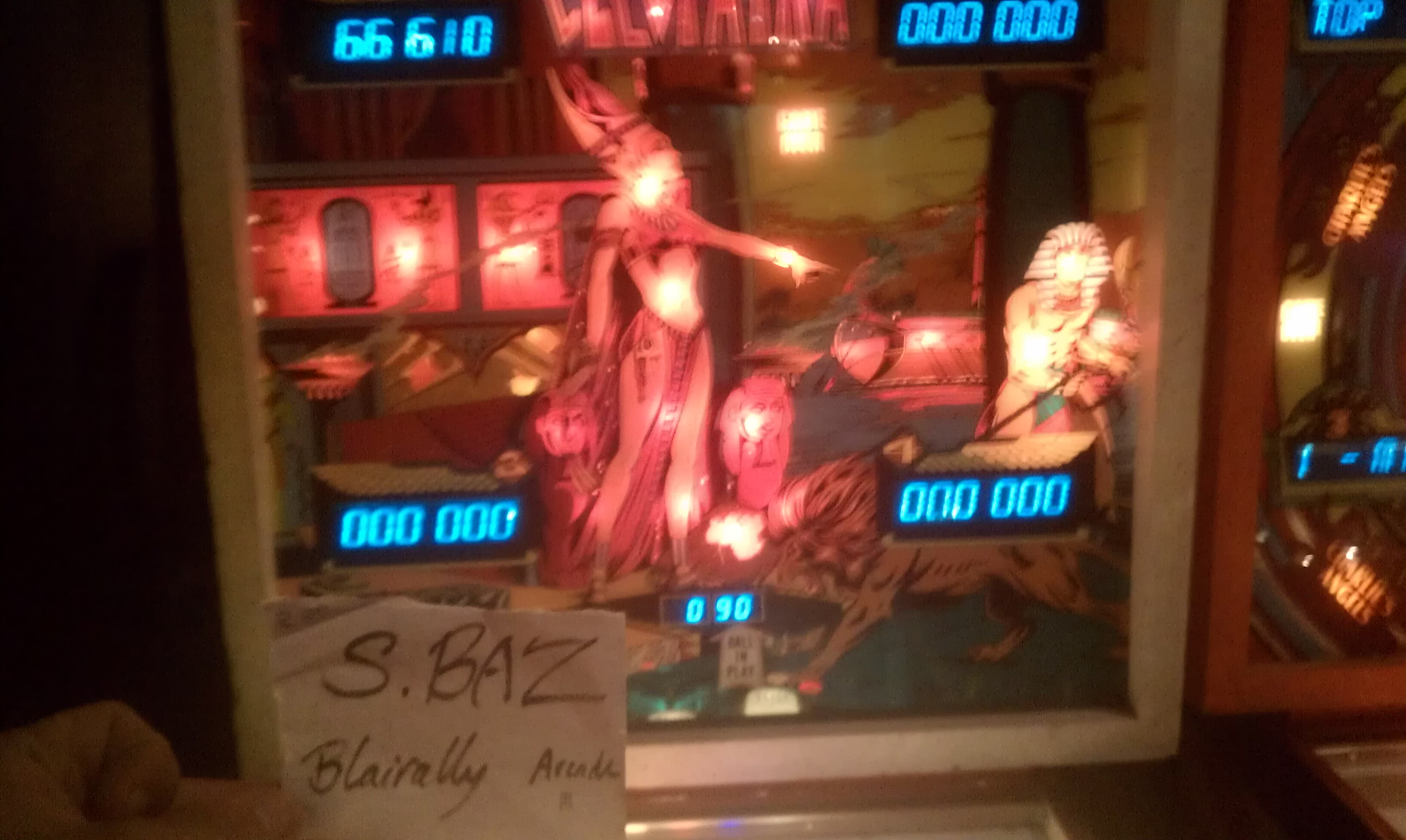 S.BAZ: Cleopatra (Pinball: 5 Balls) 66,610 points on 2016-04-05 17:29:07