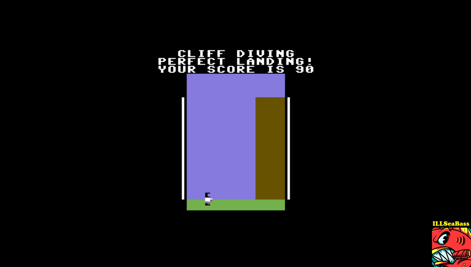 ILLSeaBass: Cliff Diving (Commodore 64 Emulated) 90 points on 2017-06-06 00:05:40