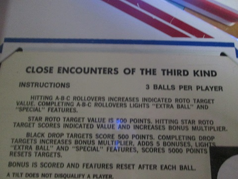 ed1475: Close Encounters of the Third Kind (Pinball: 3 Balls) 119,640 points on 2018-09-07 15:44:11