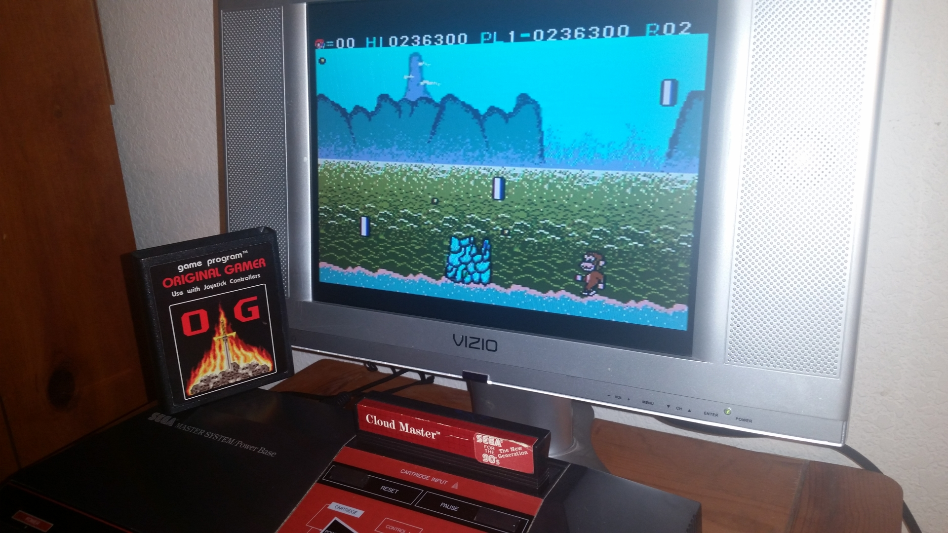 OriginalGamer: Cloud Master (Sega Master System) 236,300 points on 2016-11-17 01:20:45