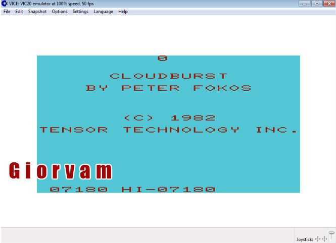 Cloudburst 7,180 points