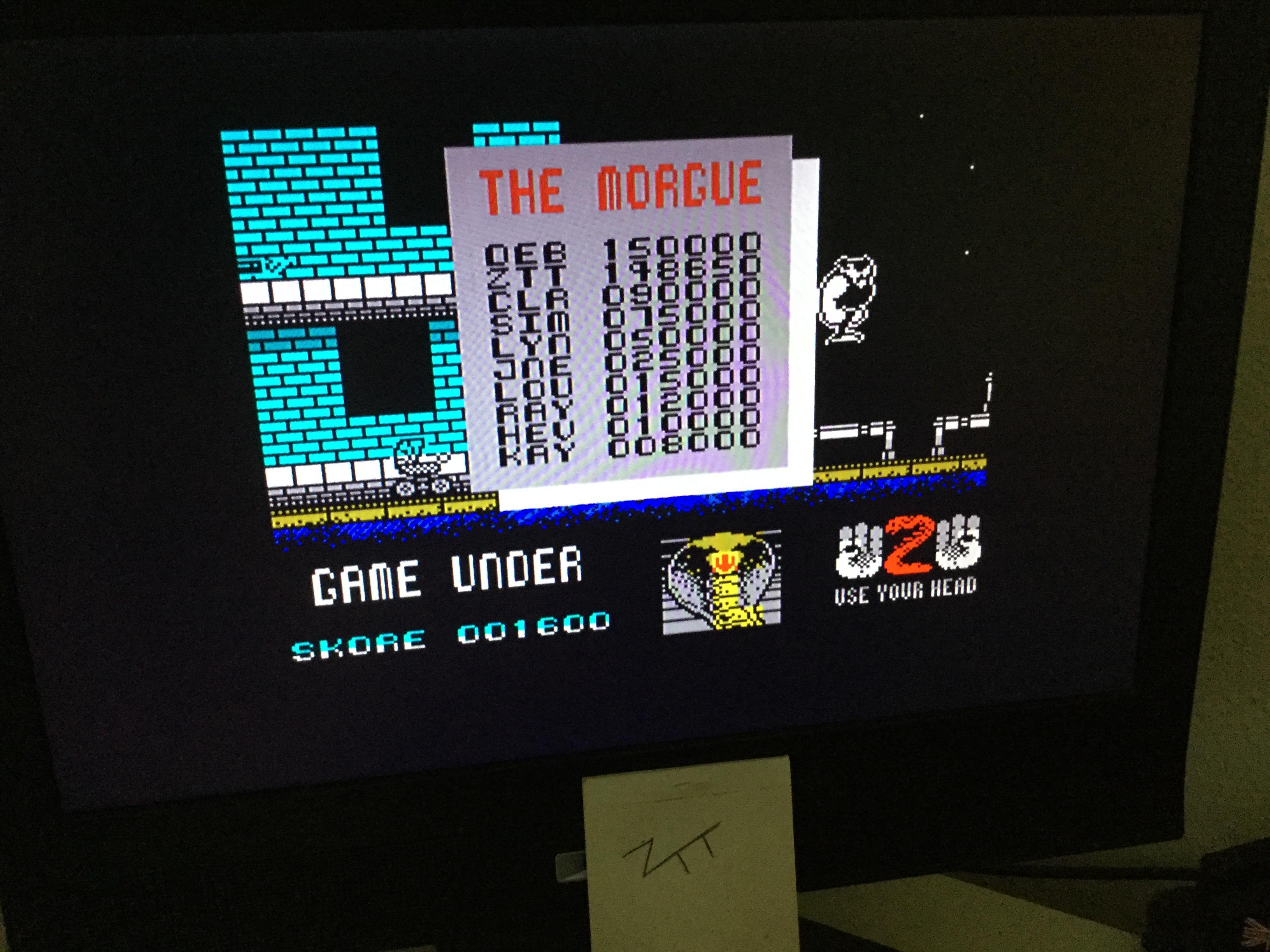 Frankie: Cobra (ZX Spectrum) 148,650 points on 2020-10-23 06:30:43