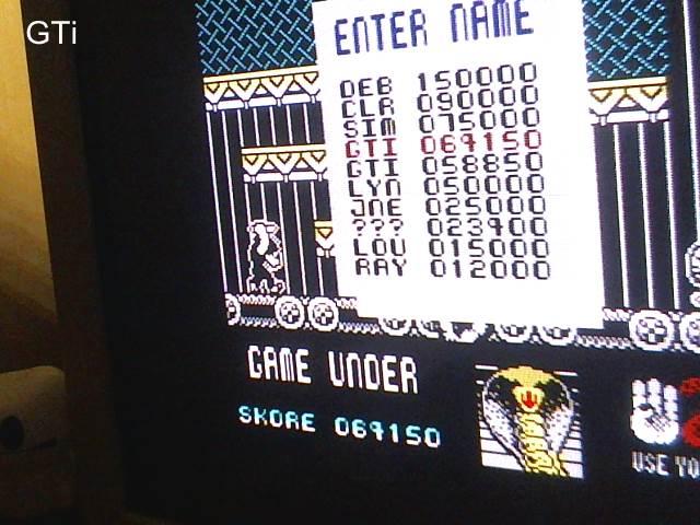 GTibel: Cobra (ZX Spectrum) 64,150 points on 2017-08-11 16:35:33