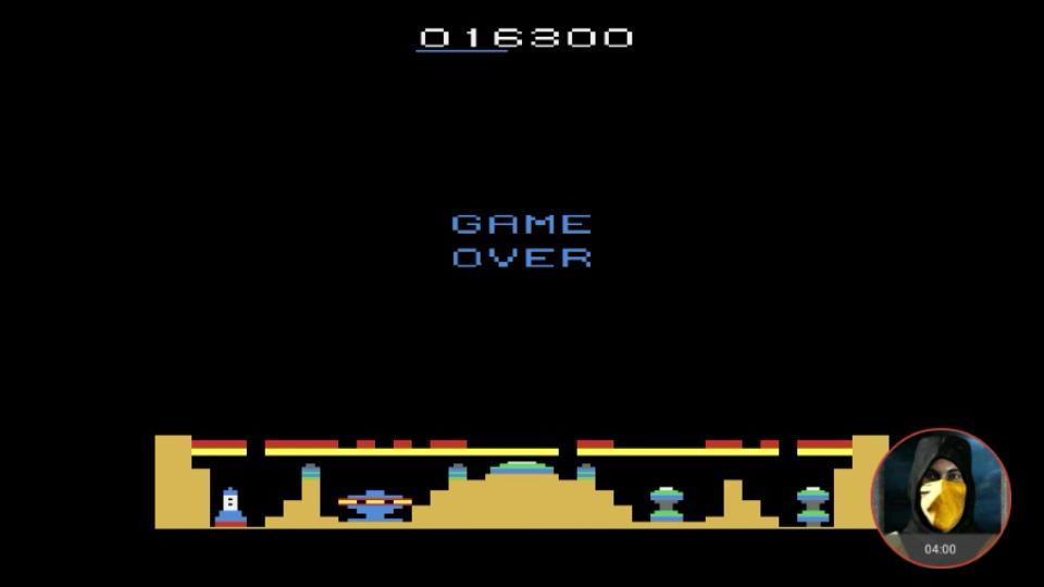 omargeddon: Colony 7 (Atari 2600 Emulated Novice/B Mode) 16,300 points on 2018-02-20 23:48:13