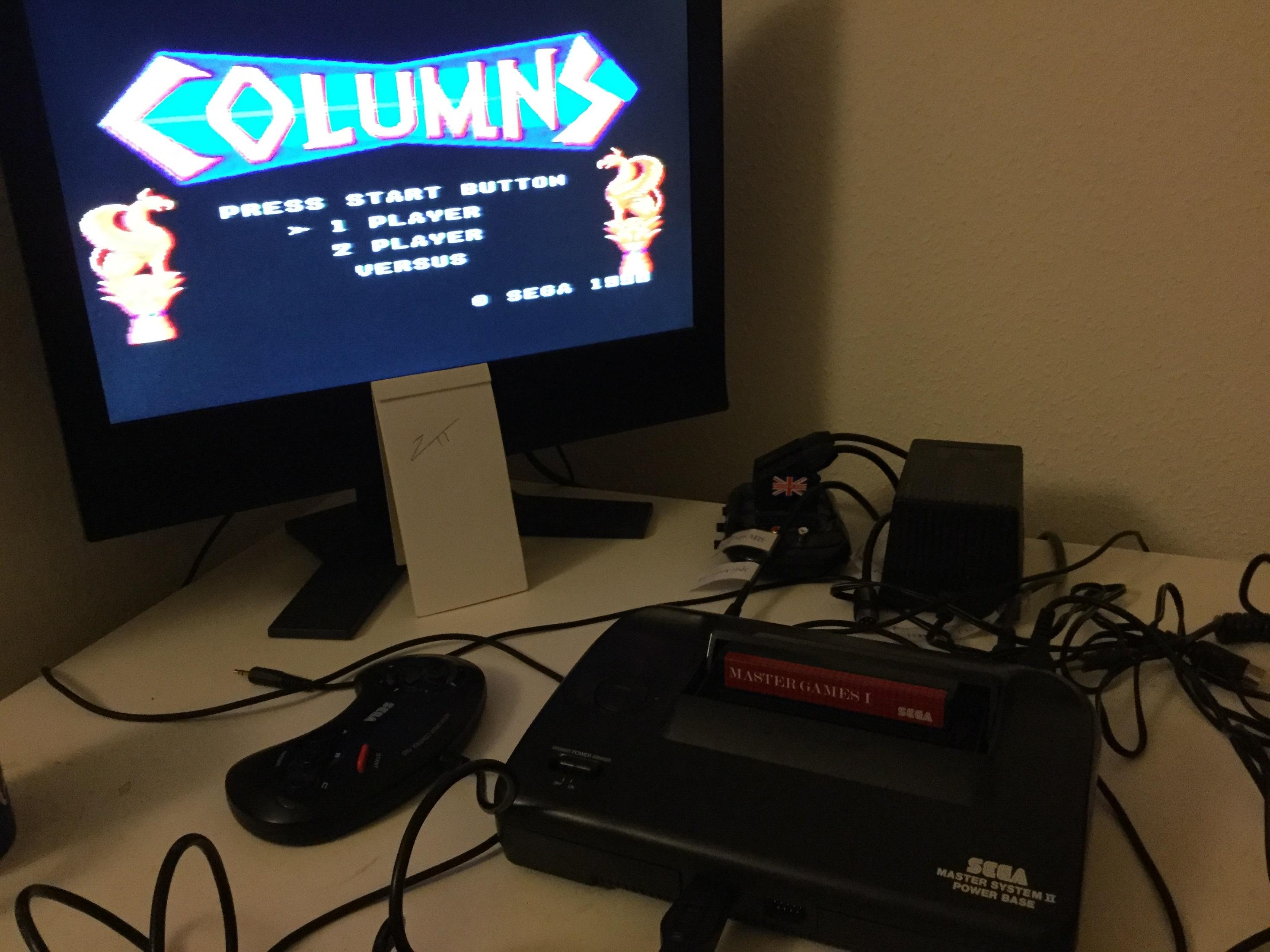 Frankie: Columns [Original/Easy] (Sega Master System) 49,200 points on 2020-12-26 11:08:48