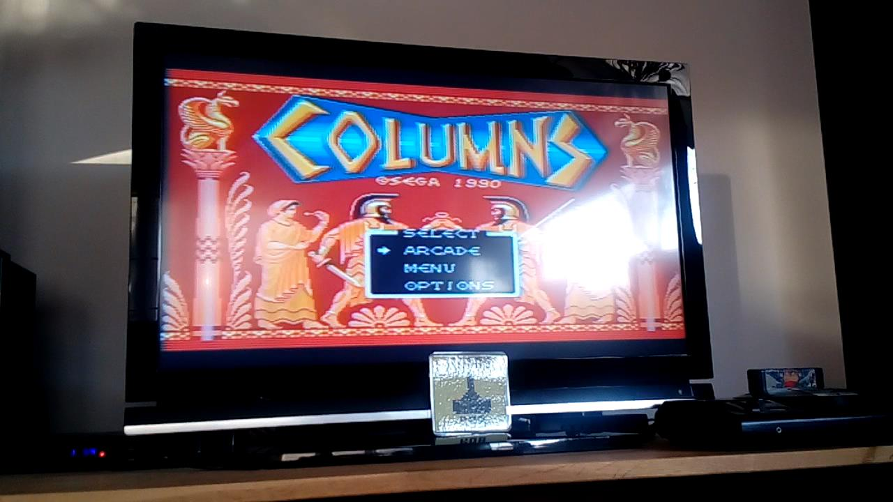 RetroRob: Columns (Sega Genesis / MegaDrive) 22,682 points on 2019-11-10 12:29:48