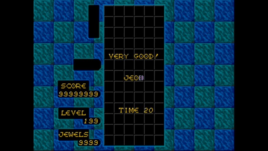 trivia212005: Columns (Sega Genesis / MegaDrive Emulated) 99,999,999 points on 2020-04-21 18:12:16