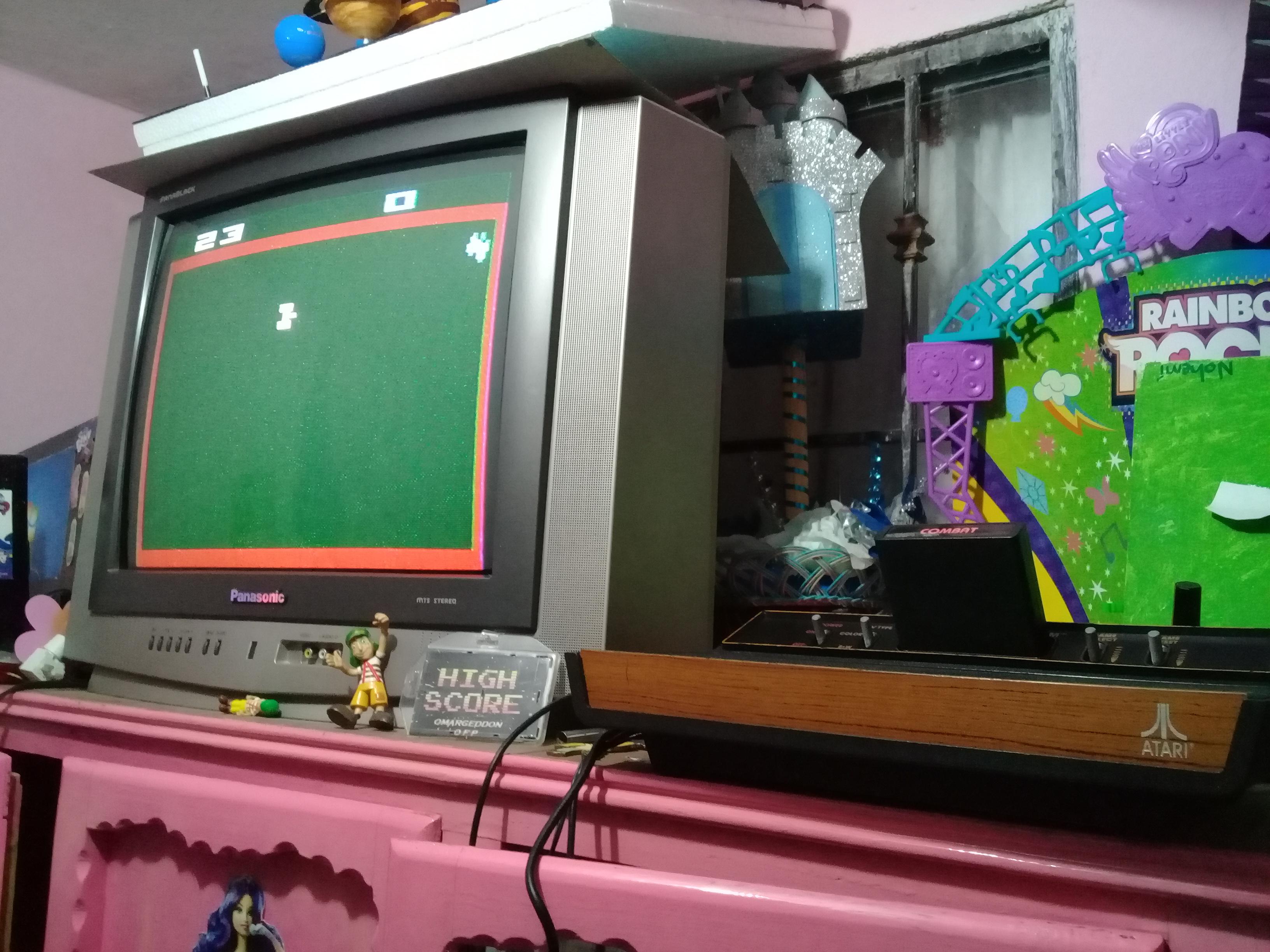 omargeddon: Combat: Game 1 (Atari 2600 Novice/B) 23 points on 2019-01-07 20:56:49