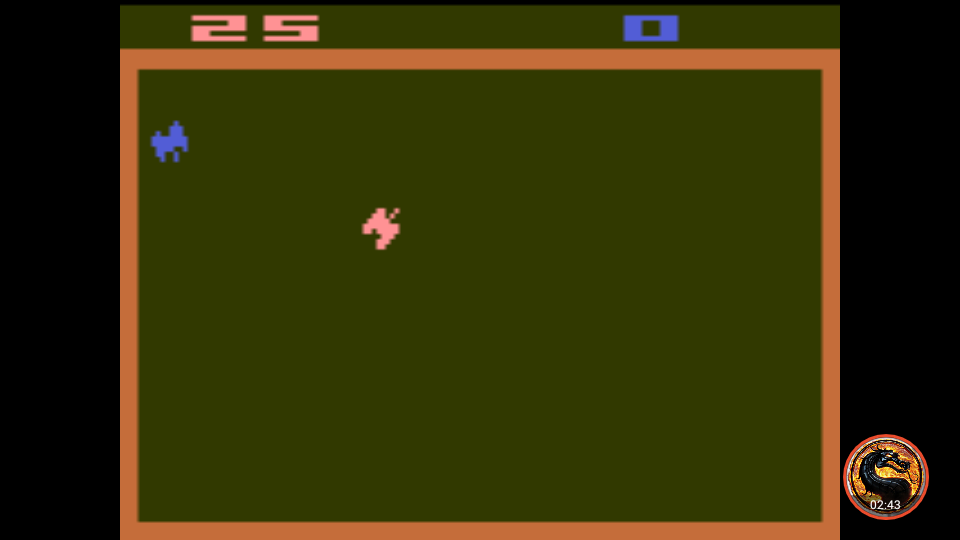 omargeddon: Combat: Game 1 (Atari 2600 Emulated Novice/B Mode) 25 points on 2019-07-16 08:04:39