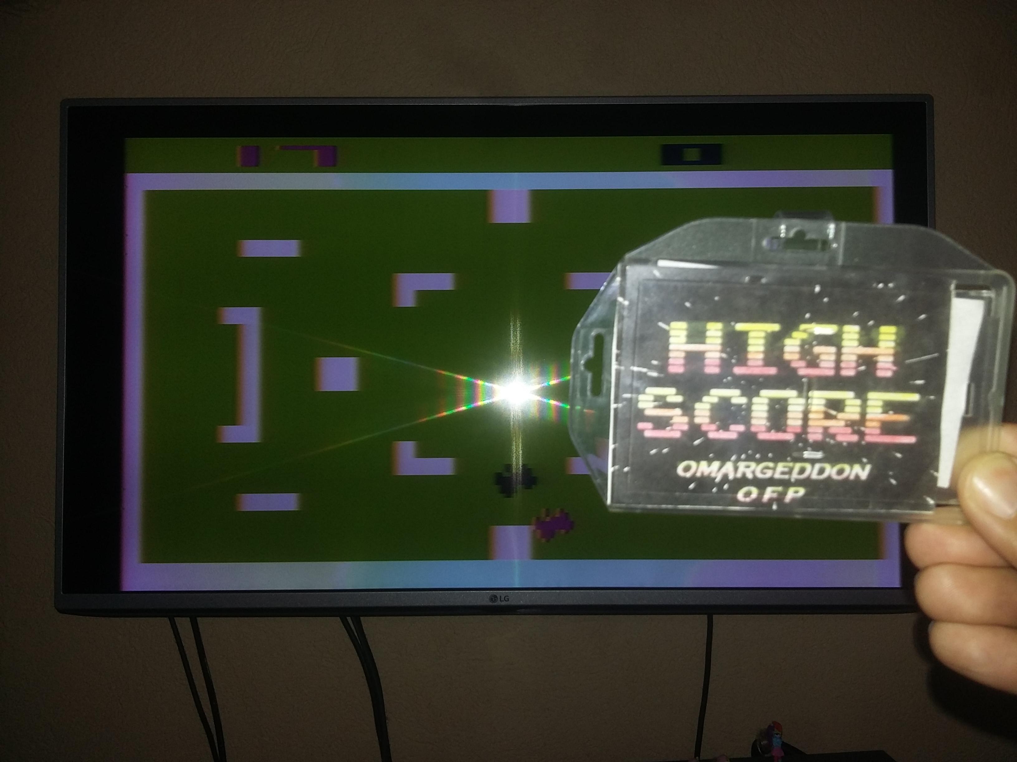 omargeddon: Combat: Game 4 (Atari 2600 Novice/B) 17 points on 2018-02-24 17:47:38