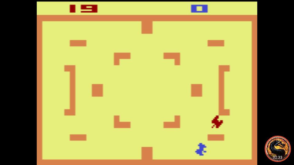 omargeddon: Combat: Game 4 (Atari 2600 Emulated Novice/B Mode) 19 points on 2019-10-15 23:23:22