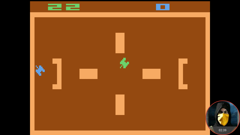 omargeddon: Combat: Game 6 (Atari 2600 Emulated Expert/A Mode) 22 points on 2018-02-19 23:21:52