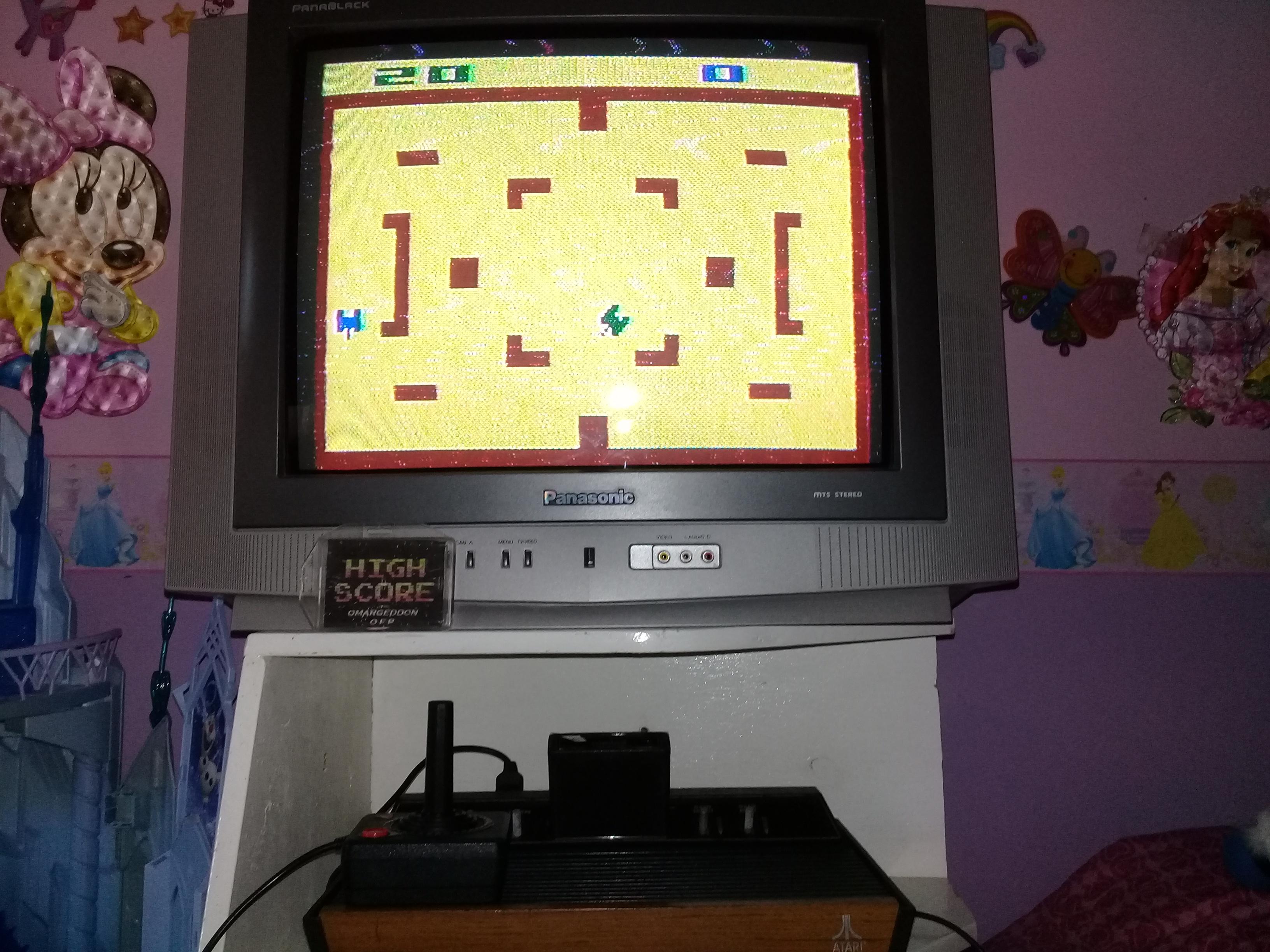 omargeddon: Combat: Game 7 (Atari 2600 Novice/B) 20 points on 2019-05-01 15:26:35
