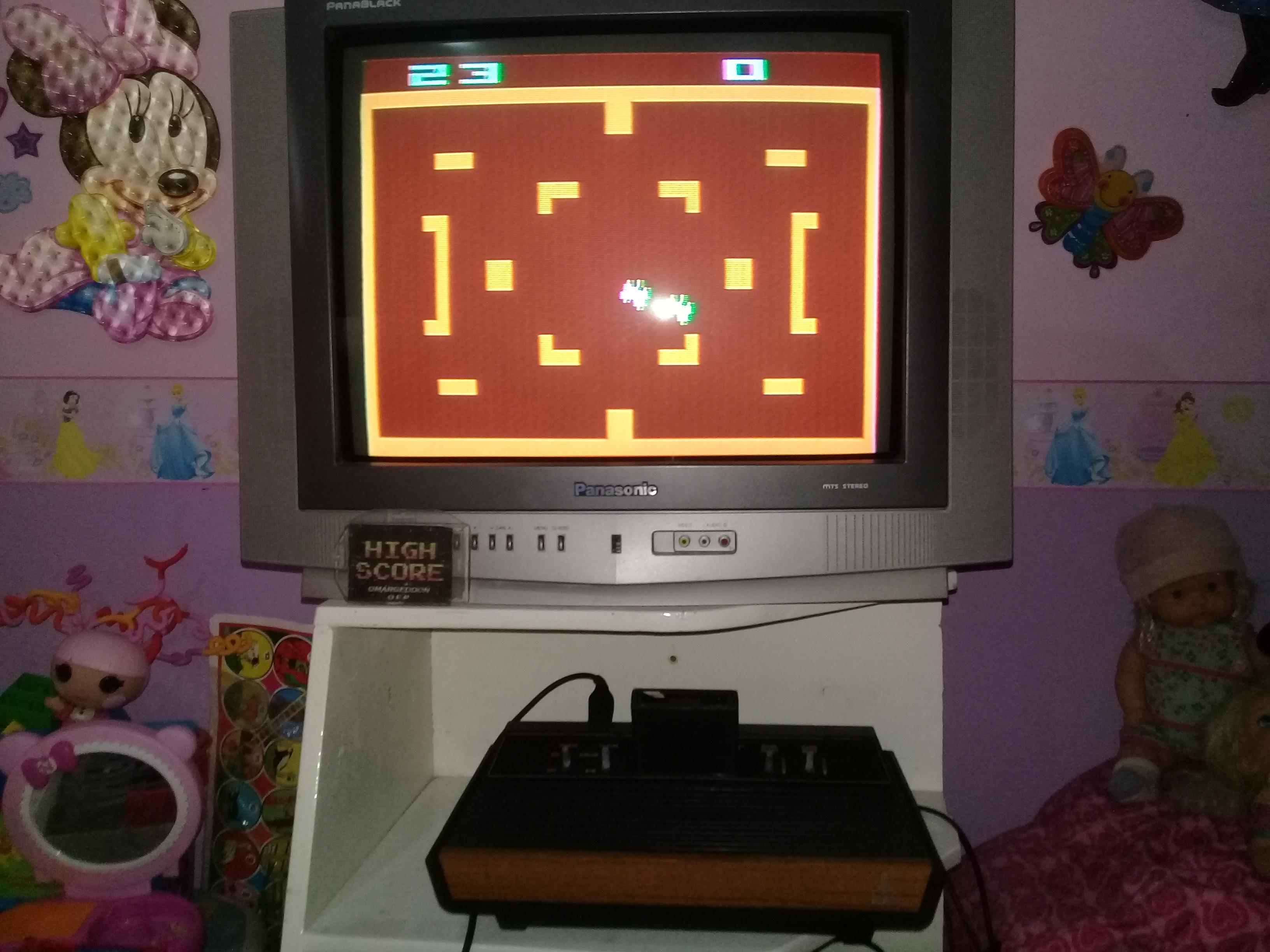 omargeddon: Combat: Game 7 (Atari 2600 Novice/B) 23 points on 2019-06-30 15:03:59