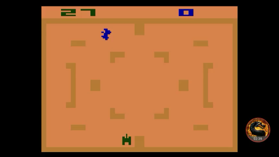omargeddon: Combat: Game 7 (Atari 2600 Emulated Novice/B Mode) 27 points on 2018-11-14 21:12:42