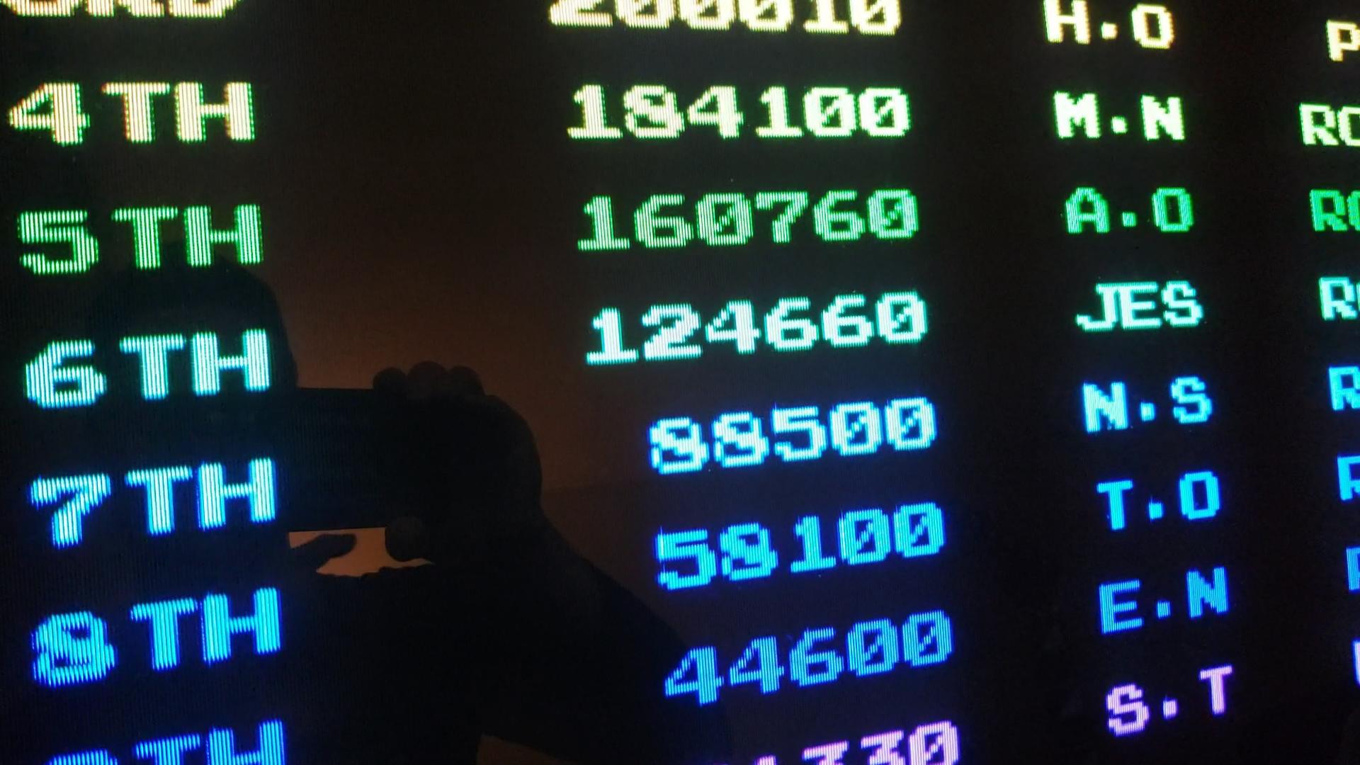 JES: Combat School [combatsc] (Arcade Emulated / M.A.M.E.) 124,660 points on 2020-08-07 01:59:04