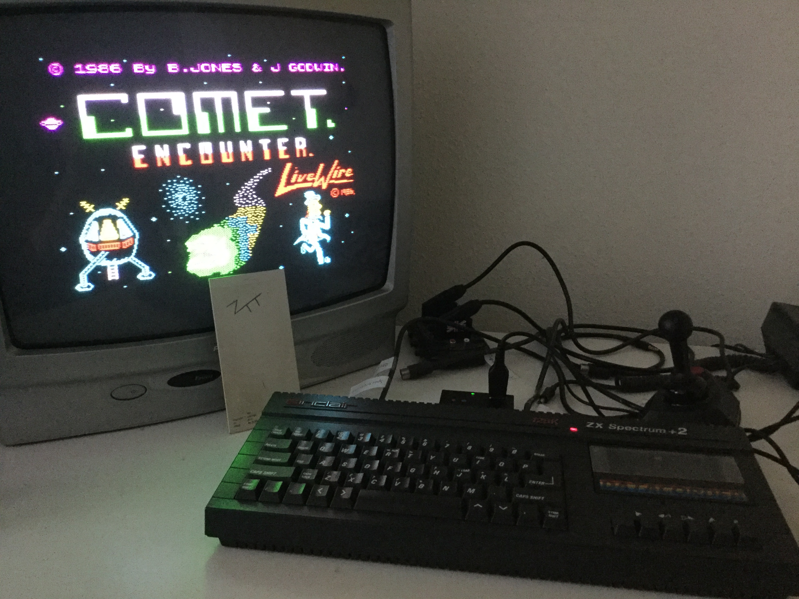 Frankie: Comet Encounter [Skill Level 2] (ZX Spectrum) 85 points on 2019-05-05 12:29:37