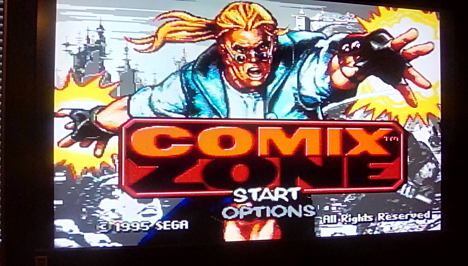 Comix Zone [Total] 7,770 points
