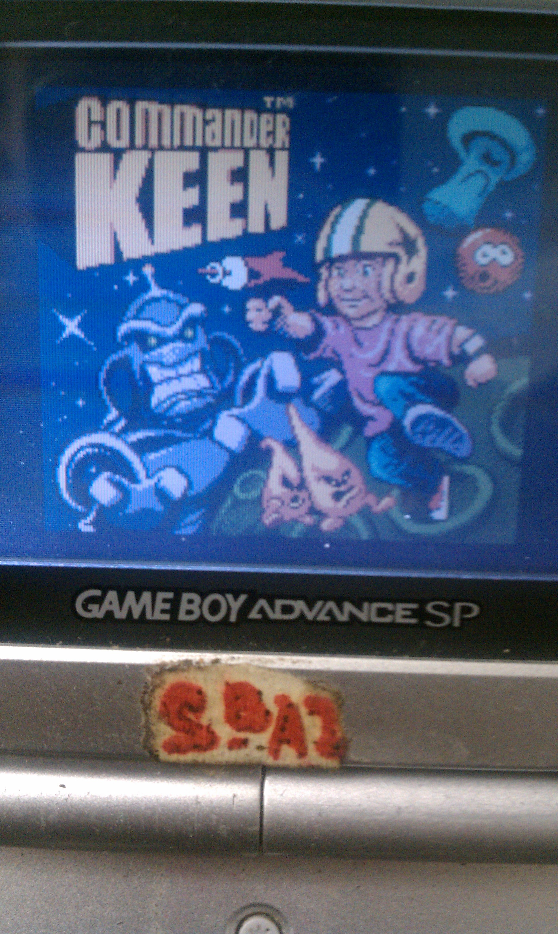 S.BAZ: Commander Keen [Easy] (Game Boy Color) 240 points on 2019-11-19 14:45:37