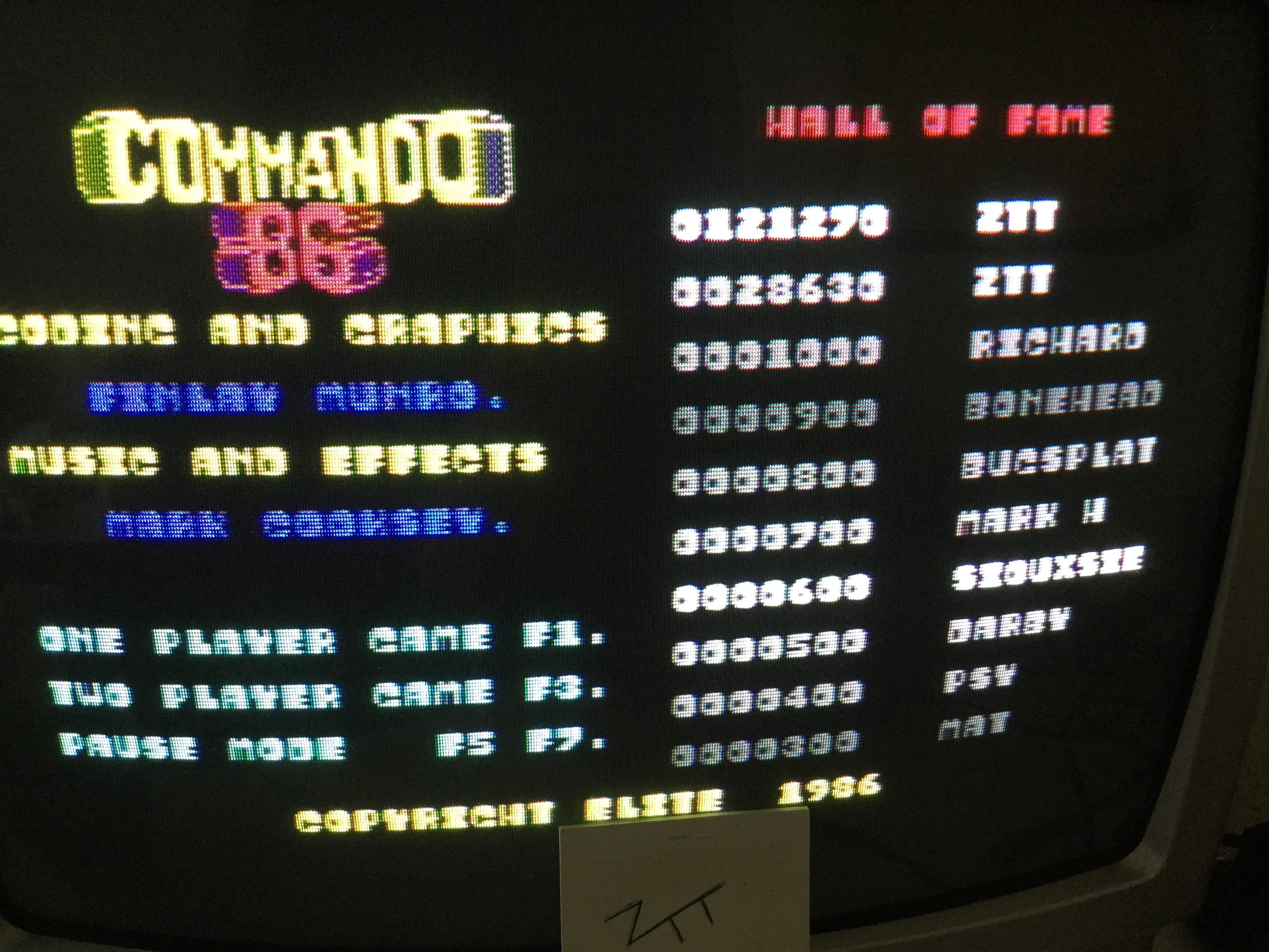 Frankie: Commando 86 / Duet (Commodore 64) 121,270 points on 2017-04-14 06:46:57