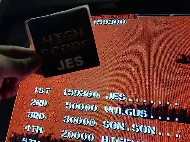 JES: Commando (Arcade Emulated / M.A.M.E.) 159,300 points on 2018-09-04 22:34:10