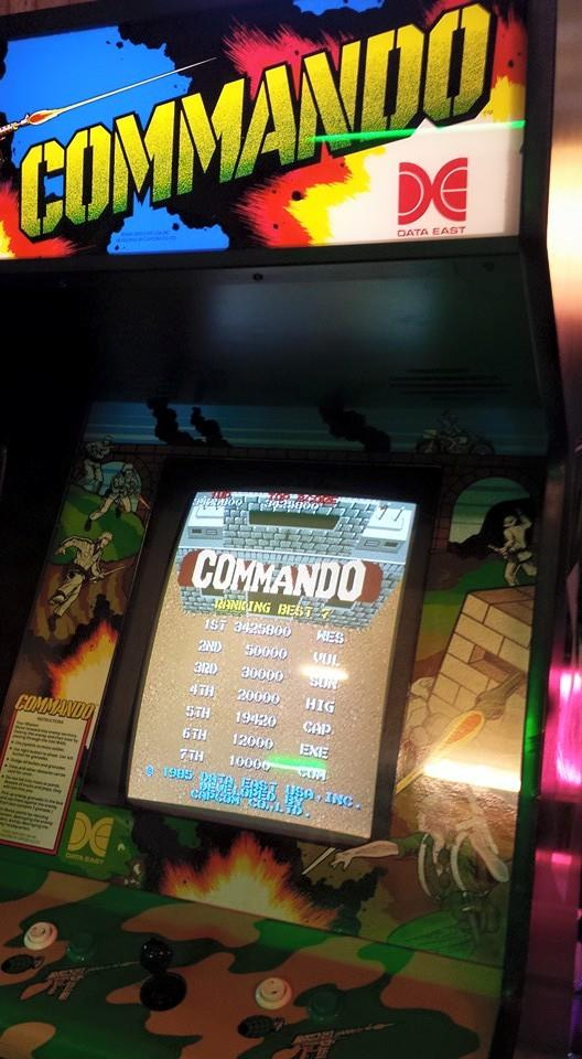 Commando 3,425,800 points
