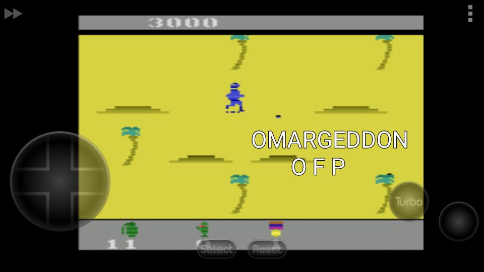 omargeddon: Commando (Atari 2600 Emulated) 3,000 points on 2016-09-16 23:48:59