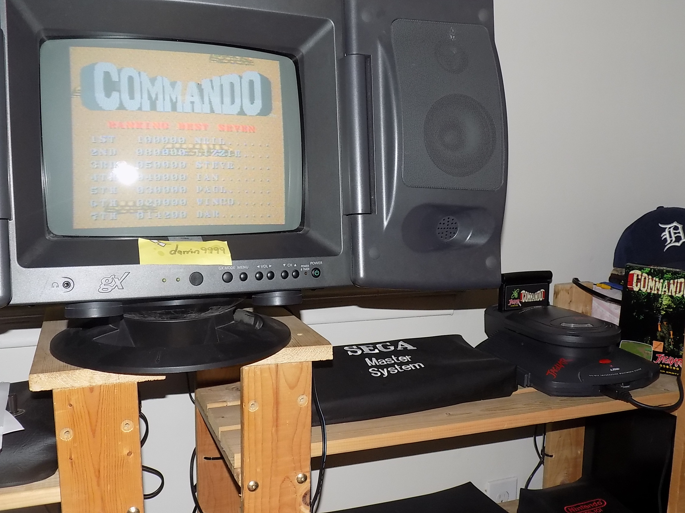 darrin9999: Commando (Atari Jaguar) 14,200 points on 2018-03-29 15:24:53