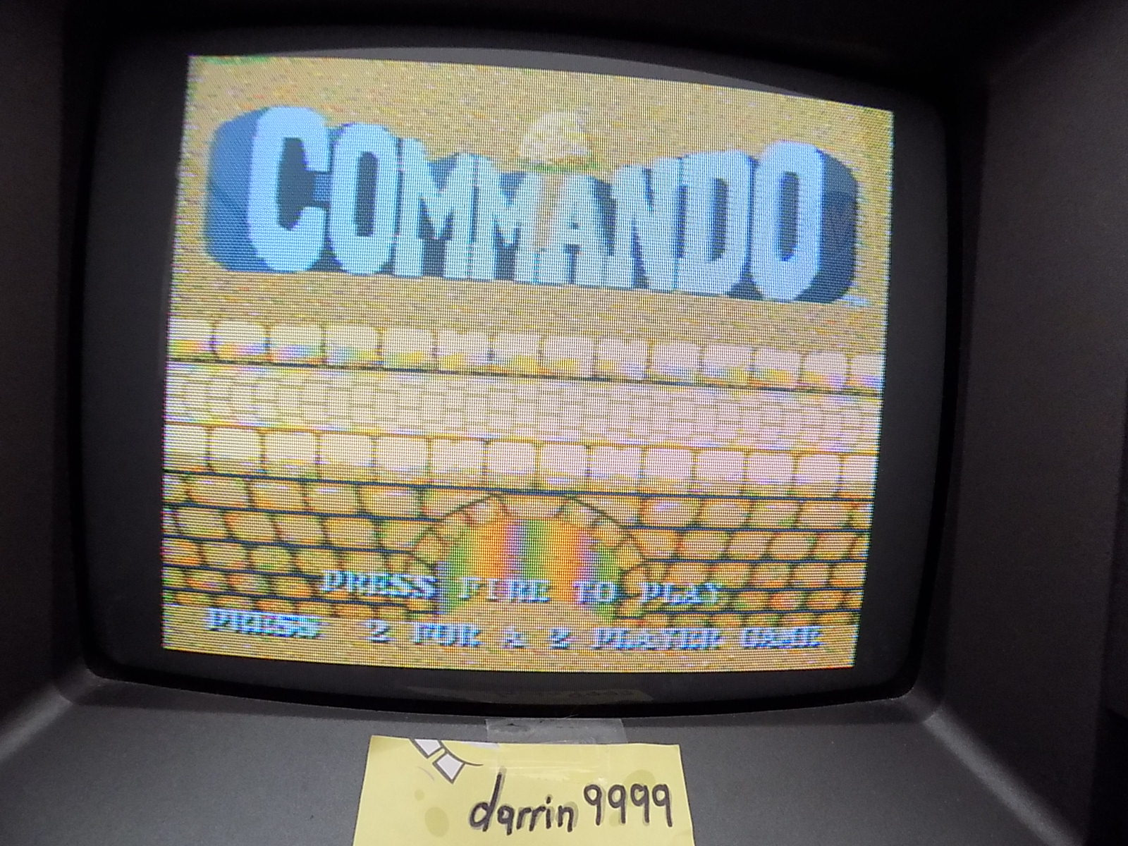 darrin9999: Commando (Atari Jaguar) 25,000 points on 2020-06-14 10:49:38