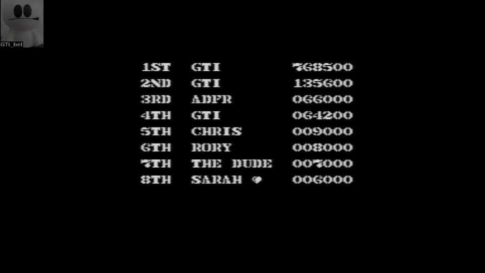 GTibel: Commando (Commodore 64 Emulated) 768,500 points on 2016-07-03 12:04:39