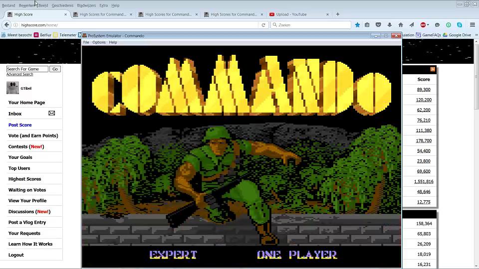 Commando: Expert 75,800 points