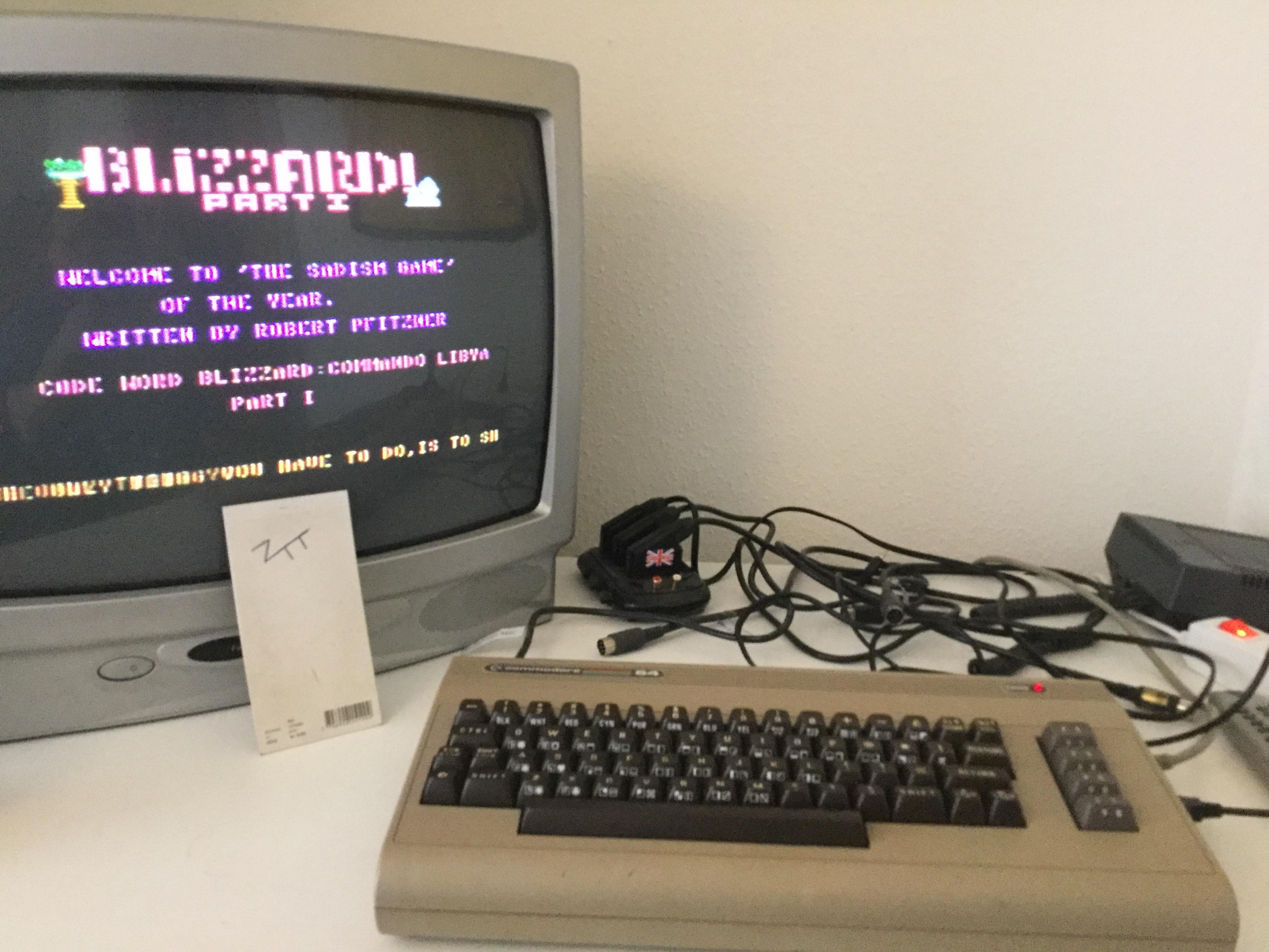 Frankie: Commando Libya (Commodore 64) 22,550 points on 2017-04-15 04:27:25
